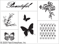 Simply Screen- seula, Butterfly Elements - Simply Screen- kangasmaali - 98548 - 1